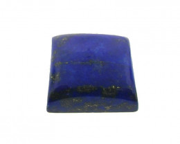 16.44 ct Square/Cushion Natural Fine Blue Lapis Lazuli Gemstone
