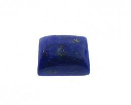 4 ct Rectangle Natural Fine Blue Lapis Lazuli Gemstone