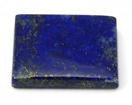 13.84 ct Rectangle Natural Fine Blue Lapis Lazuli Gemstone