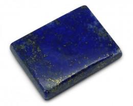 7.52ct Rectangle Lapis Lazuli Gemstone - $1 NR Auction