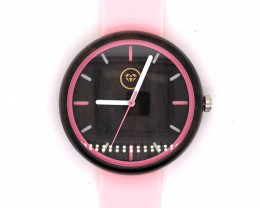Pink Lady Treasures Eco Friendly Bamboo watch WO 73