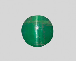 Cat's Eye Emerald, 8.04ct - Mined in Zambia | Certified by IGI