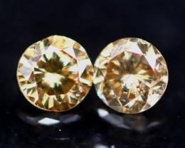 NR$15 Diamond 0.18Ct Natural Fancy Color Diamond 12CF01