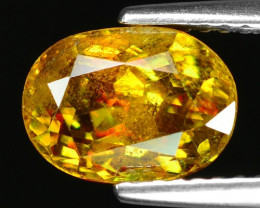 Mind Blowing Fire 2.34 Cts Chrome Sphene ~ SF72