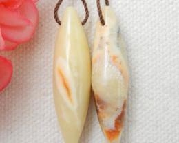 Sale Yellow Opal Earrings ,Handmade Earrings ,Customized Gemstone E567