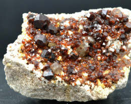 Grenat Spessartite - 143 gr - Wushan Spessartine Mine, Tongbei, Yunxiao, Ch