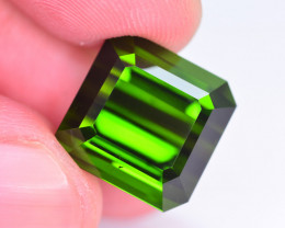 Amazing Green Color 21.85 Ct Natural Tourmaline