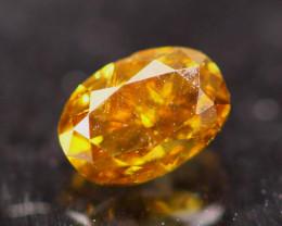 NR$15 Diamond 0.26Ct Natural Fancy Color Diamond 12CF43