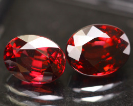 Rhodolite 4.38Ct Natural VVS Cherry Red Rhodolite Garnet E1511