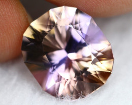 Ametrine 7.91Ct Natural BiColor Bolivian Ametrine Custom Cut B1502