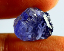 3.90 Cts Unheated & Natural ~Blue Iolite Facet Rough