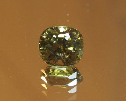 Rare honey  yellow zircon