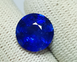 TOP 4.14 CTS NATURAL STUNNING ROUND MIX CUT ROYAL BLUE SAPPHIRE SRI LANKA