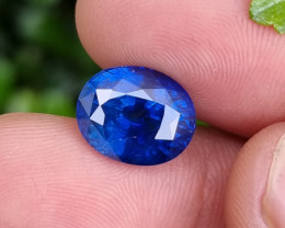 GIA CERTIFIED 7.66 CTS NATURAL STUNNING BLUE SAPPHIRE FROM SRI LANKA