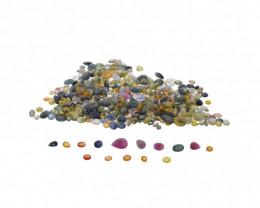 1ct Mixed Multi Colour Natural Sapphire- $1 No Reserve Auction