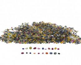 10ct Mixed Multi Colour Natural Sapphire-$1 No Reserve Auction