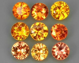 1.70 CTS EXCELLENT NATURAL RARE FANCY -YELLOWISH-ORANGE MADAGASCAR SAPPHIRE