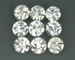 4.55 CTS~FINE QUALITY_LUSTROUS - NATURAL WHITE  ZIRCON - ROUND _CUT NR!!