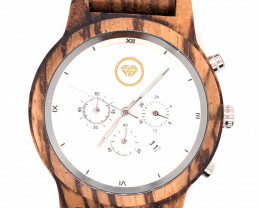 Man Treasures Eco Friendly Bamboo watch WO 154