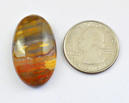 Genuine 40.00 Cts Ocean Agate Cabochon
