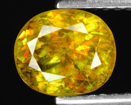 Mind Blowing Fire 1.74 Cts Chrome Sphene ~ SF82