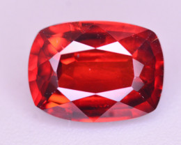 Reddish Orange Color 1.85 Ct Natural Spessartite Garnet.