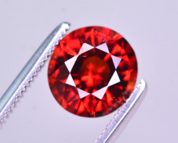 Reddish Orange Color 2.25 Ct Natural Spessartite Garnet.