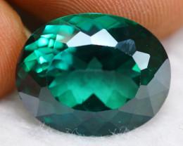 Green Topaz 15.65Ct Natural Vivid Green Brazilian Topaz B1605