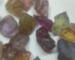 50Ct Natural Umba Sapphire Facet Rough Parcel