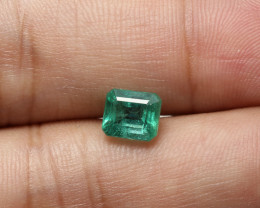 1.56ct Lab Certified Zambian Emerald