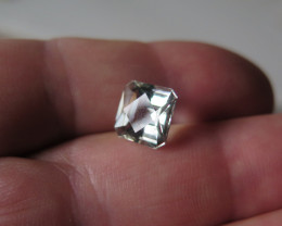QUALITY NATURAL GREEN AMETHYST CHECKBOARD 10x10mm