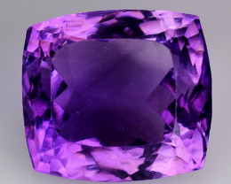 14.65 Cts Sparkling  Amethyst Brilliant Color and Cut ~ AM4