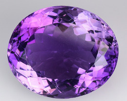11.27 Cts Sparkling  Amethyst Brilliant Color and Cut ~ AM6
