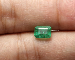 1.23ct Lab Certified Zambian Emerald