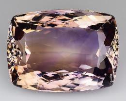30.65 Cts Bolivian Ametrine Stunning Luster & Cut AR5