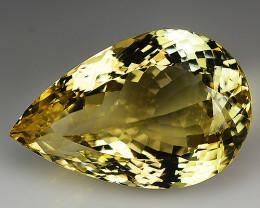 37.30 Cts Yellow Golden Citrine Brilliant Color & Cut ~ CN2