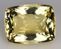 19.49 Cts Yellow Golden Citrine Brilliant Color & Cut ~ CN8