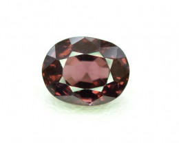 2.65 carats Top Grade Oval Cut Natural Wine Color Spinel Loose Gemstone Fro