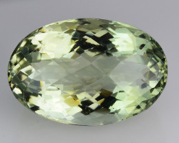14.67 Cts Prasiolite Stunning Cut and Luster ~ PS6