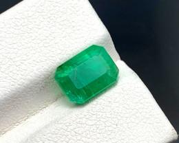 3.05 carats Natural Emerald from Panjshir
