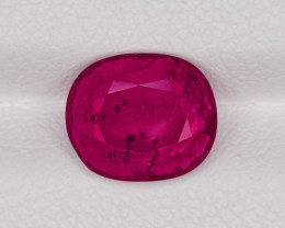 Ruby, 2.77ct - Mined in Mozambique | Certified by IGI
