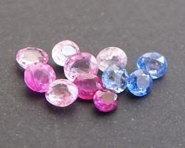2.69ct Natural Multi colour sapphire