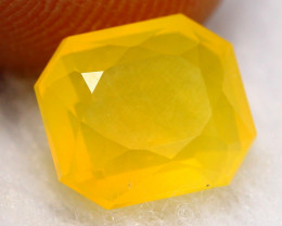 Fire Opal 1.94Ct Natural Yellow Mexican Fire Opal A1711