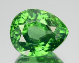 4.54 Cts Sparkling Natural Green Zircon Pear Cut Srilanka Gem