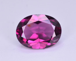 Rarest 1.65 Ct Amazing Fire Natural Grape Garnet ~ AHM