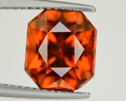 Natural 4.45 Ct Fancy Shape Hessonite Garnet Gemstone