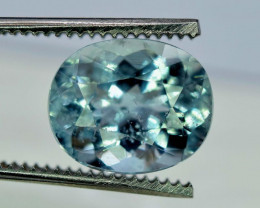 5.70 Carats Oval Cut Natural Top Grade Color Aquamarine Gemstone from pakis