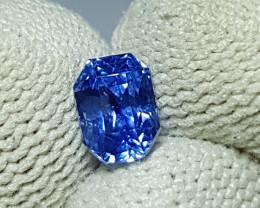NO HEAT 1.43 CTS CERTIFIED NATURAL STUNNING CORNFLOWER BLUE SAPPHIRE CEYLON