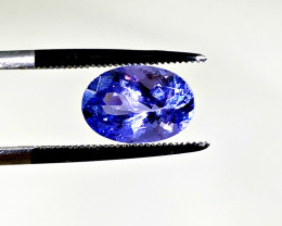 Top Color Tanzanite 2.43 cts.