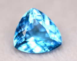 29.61ct Swiss Blue Topaz Trillion Cut Lot V5254